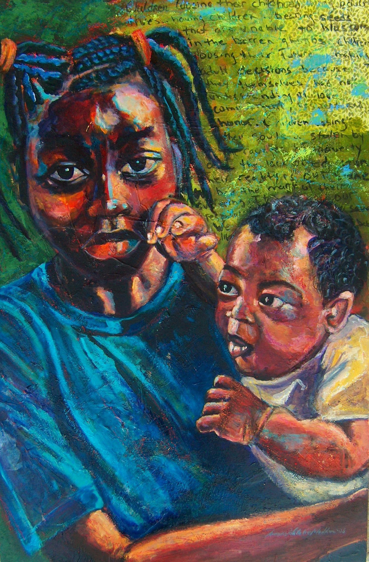 Child Mother, by Tamara Madden