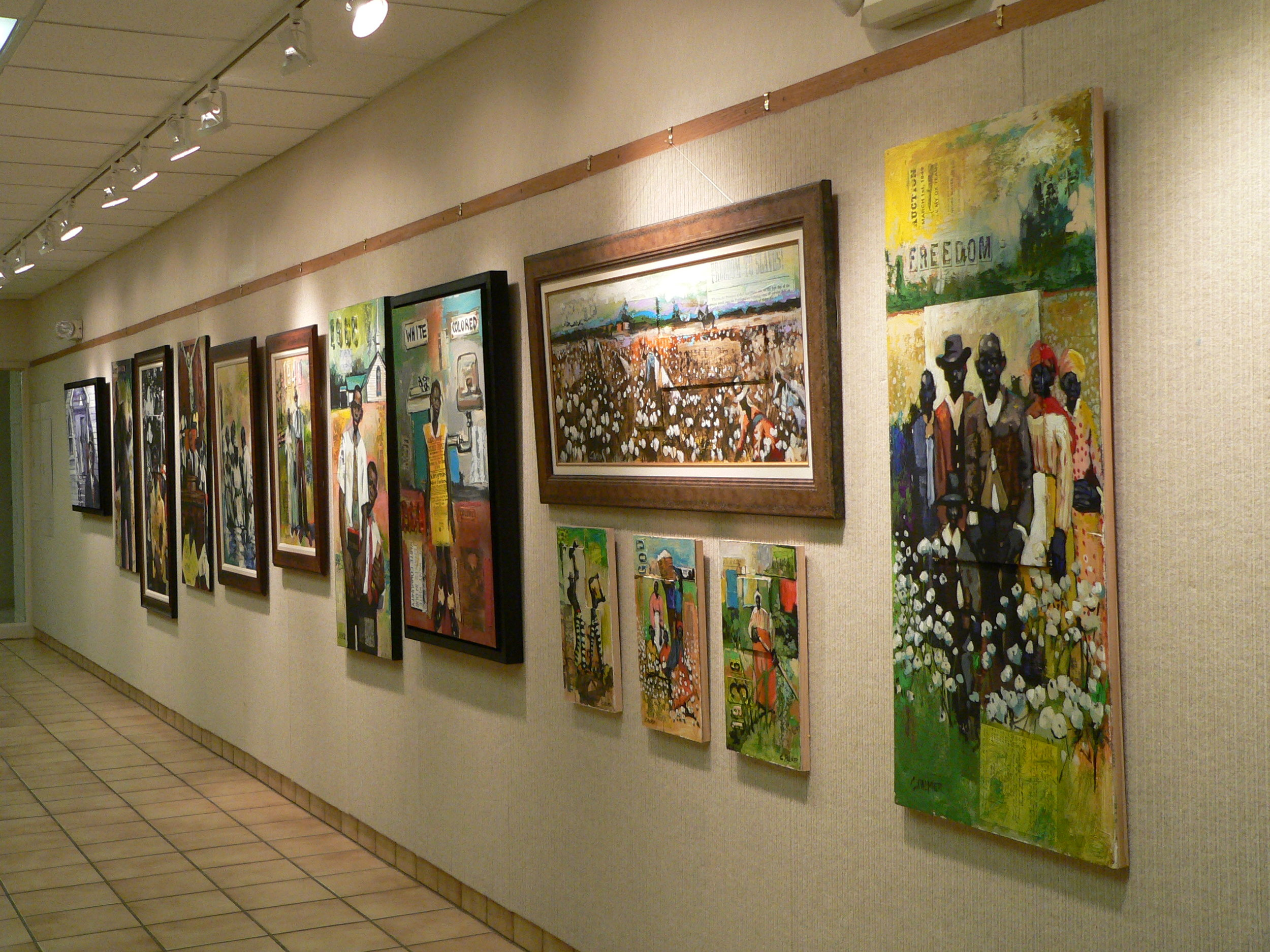 Exhibition at the Gordon Jewish Community Center