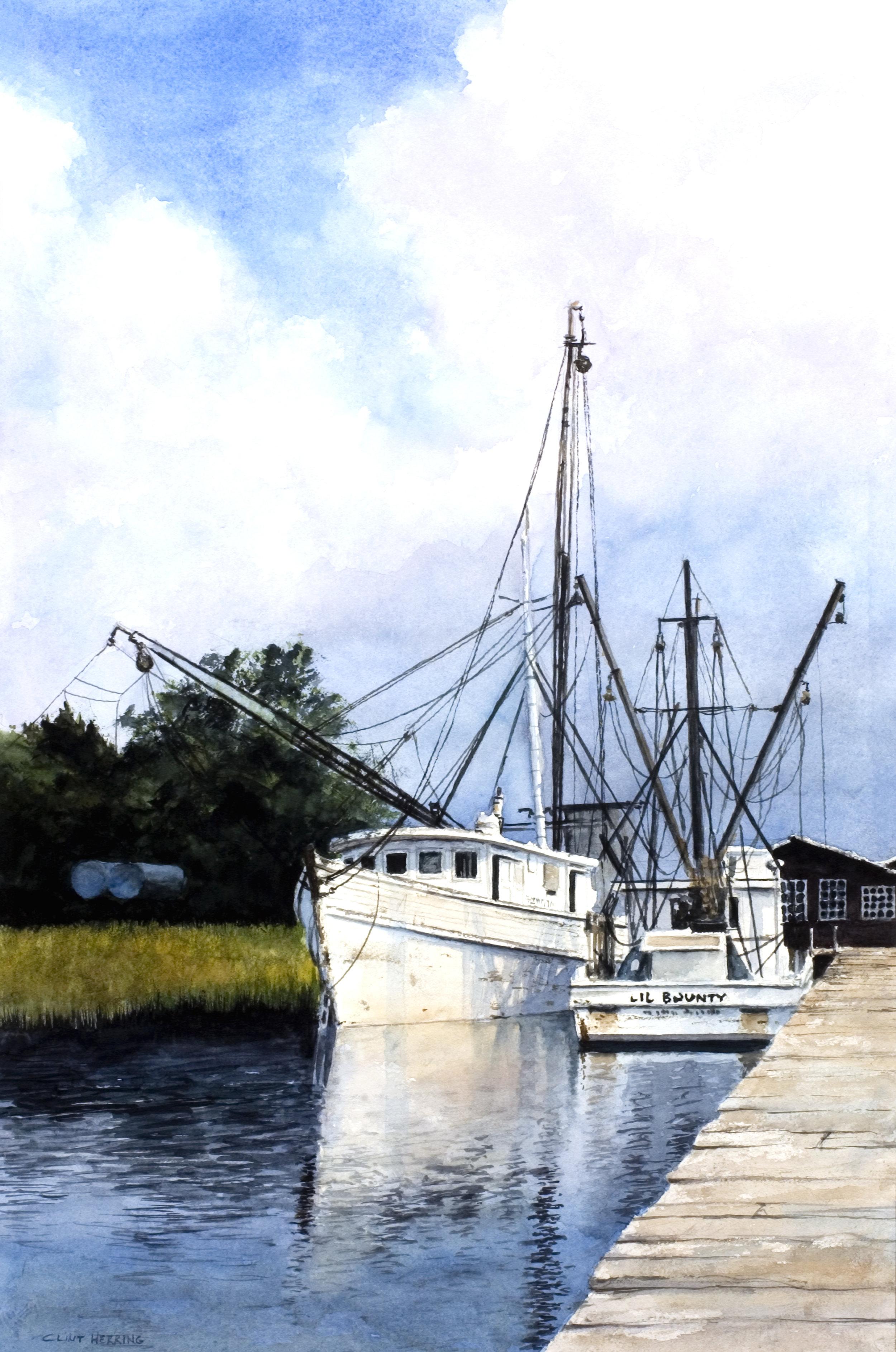 Shrimp Boats at Rockville