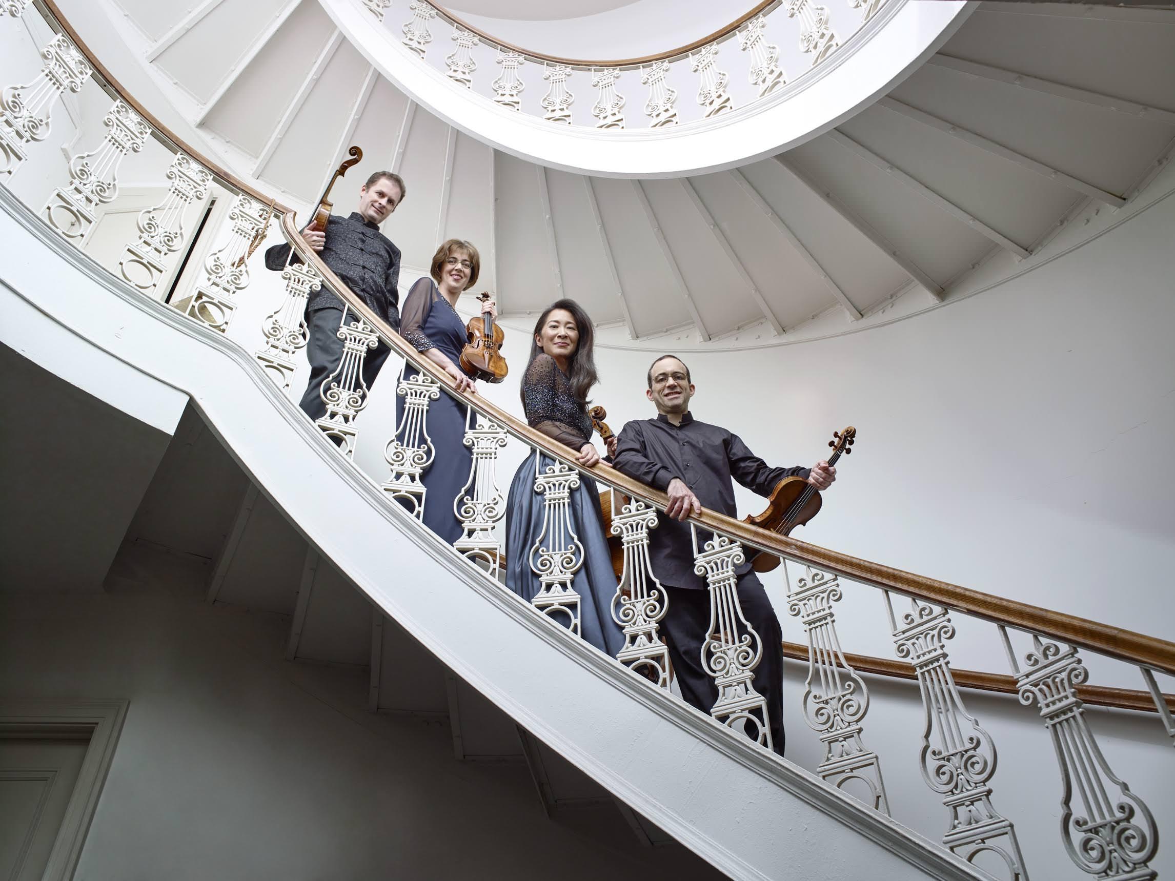 Brentano String Quartet, photo by Juergen Frank