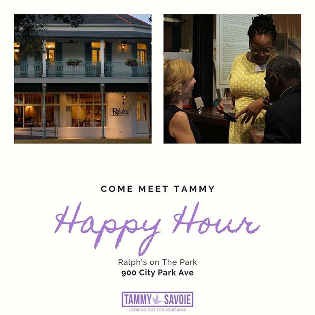 Join us tomorrow night, Wednesday-June 19th, from 4:30-6:00 pm. Come enjoy the evening with us at Ralph's On The Park, 900 City Park Ave. We're looking forward to some happy hour drinks and nibbles. Bring your questions, comments, concerns, and at least a little bit of a thirst!