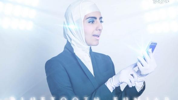 Bluetooth Hijab , by Meriem Bennanni