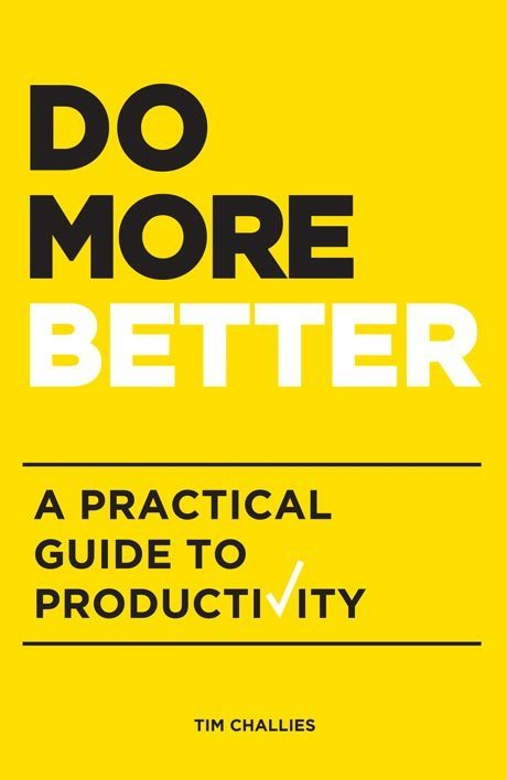 You can purchase Do More Better here -