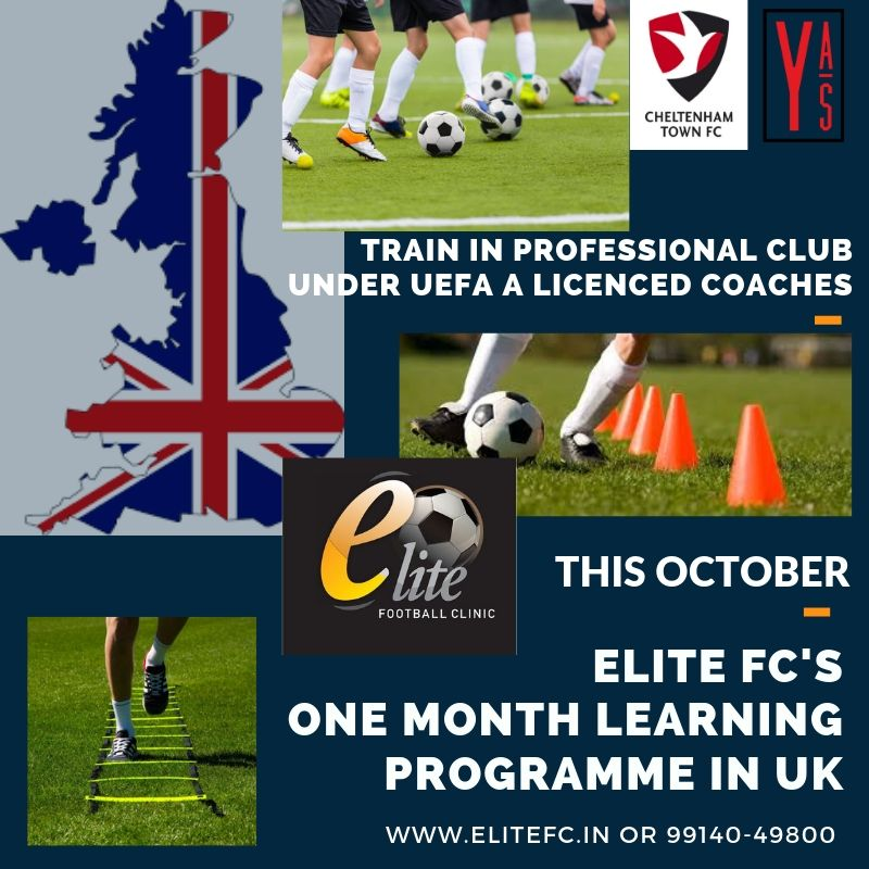We also introduced a one month extensive football programme cxchange programme coming this October for a one to one learning experience for an overall development of the player.