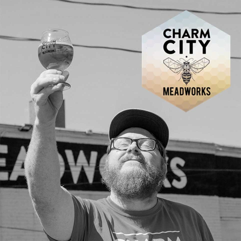 CCRD proudly serves Charm City Meadworks, the official adult beverage of the 2019 Bmore Classic. - Visit Charm City Meadworks >