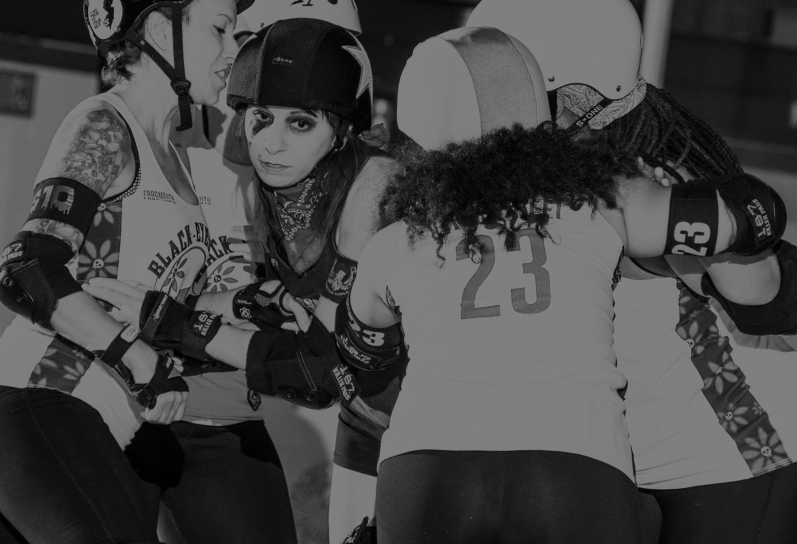 The 2019 Bmore Classic - Boston Roller Derby • Brandywine Roller Derby • Charm City Roller Derby • DC Rollergirls • Free State Roller Derby • Madison Roller Derby • Ottawa Valley Roller Derby • Queen City Roller Girls