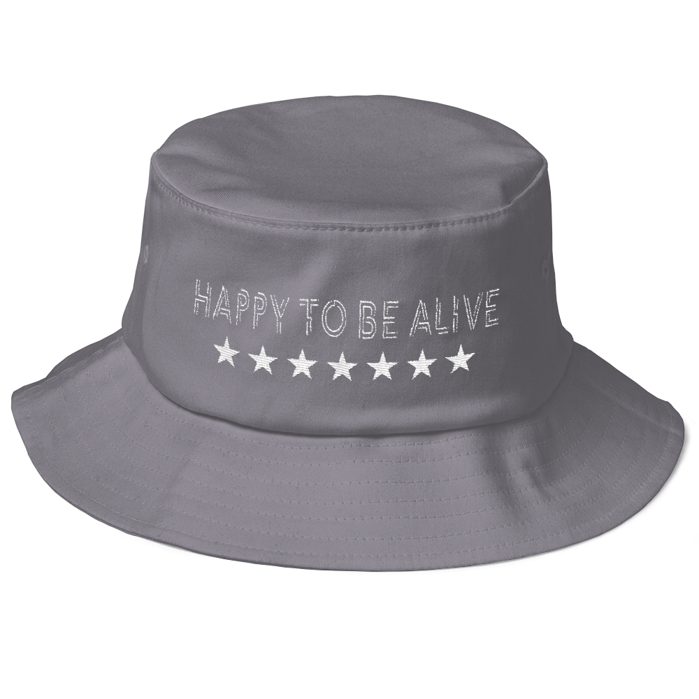 Happy-To-Be-Alive---Bucket---black-grey---White-text_mockup_Front_Grey.png