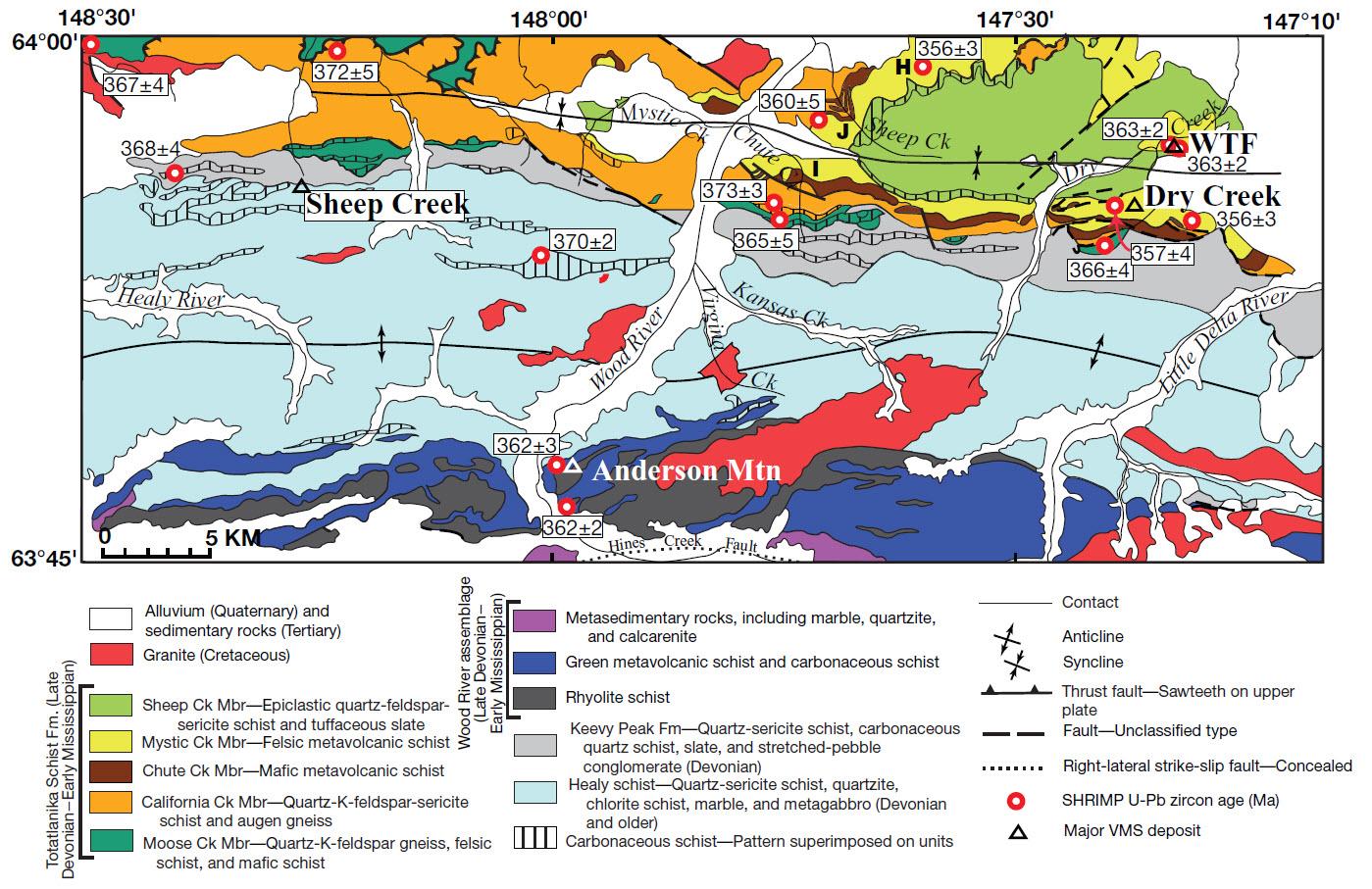 Dusel-Bacon Regional geology Bonnifield District Eco Geol 2012.jpg