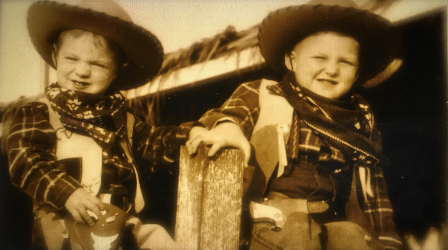 Richard and James Griffin, Los Angeles 1946
