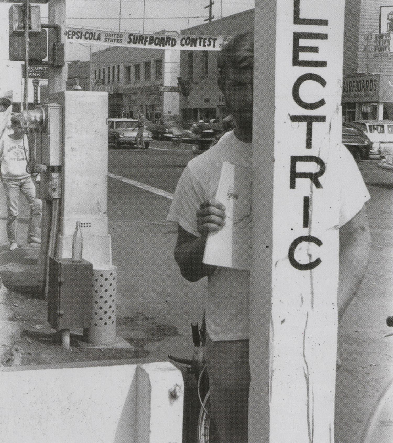Rick Griffin U.S. Surfing Championships, Huntington Beach, CA 1964