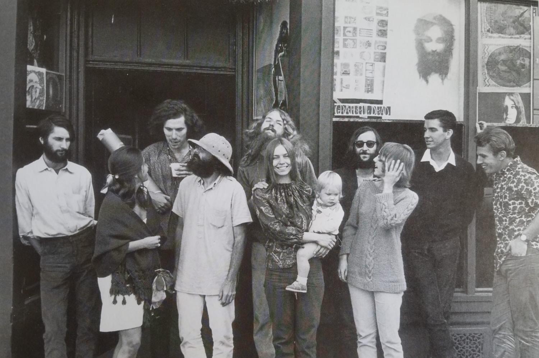 The Berkeley Bonaparte Outside their storefront, San Francisco 1967