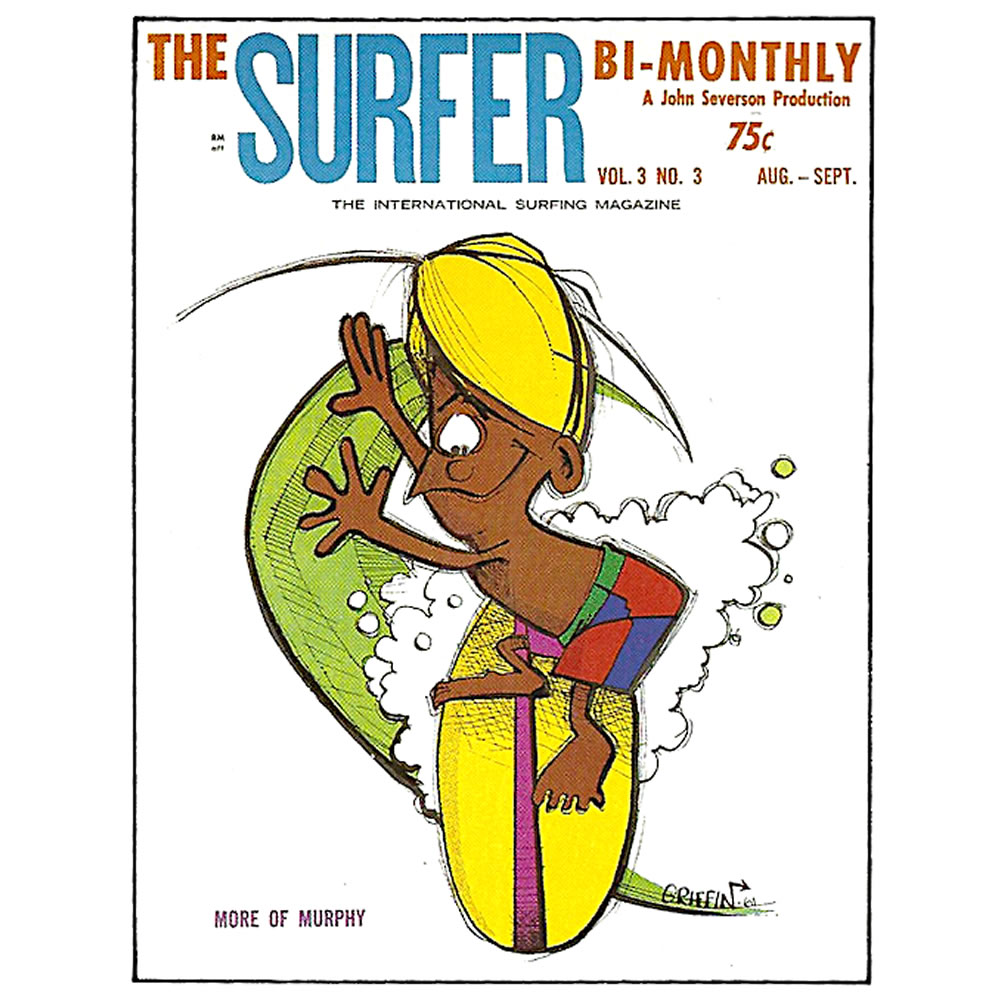 Murphy Surfer Magazine Cover