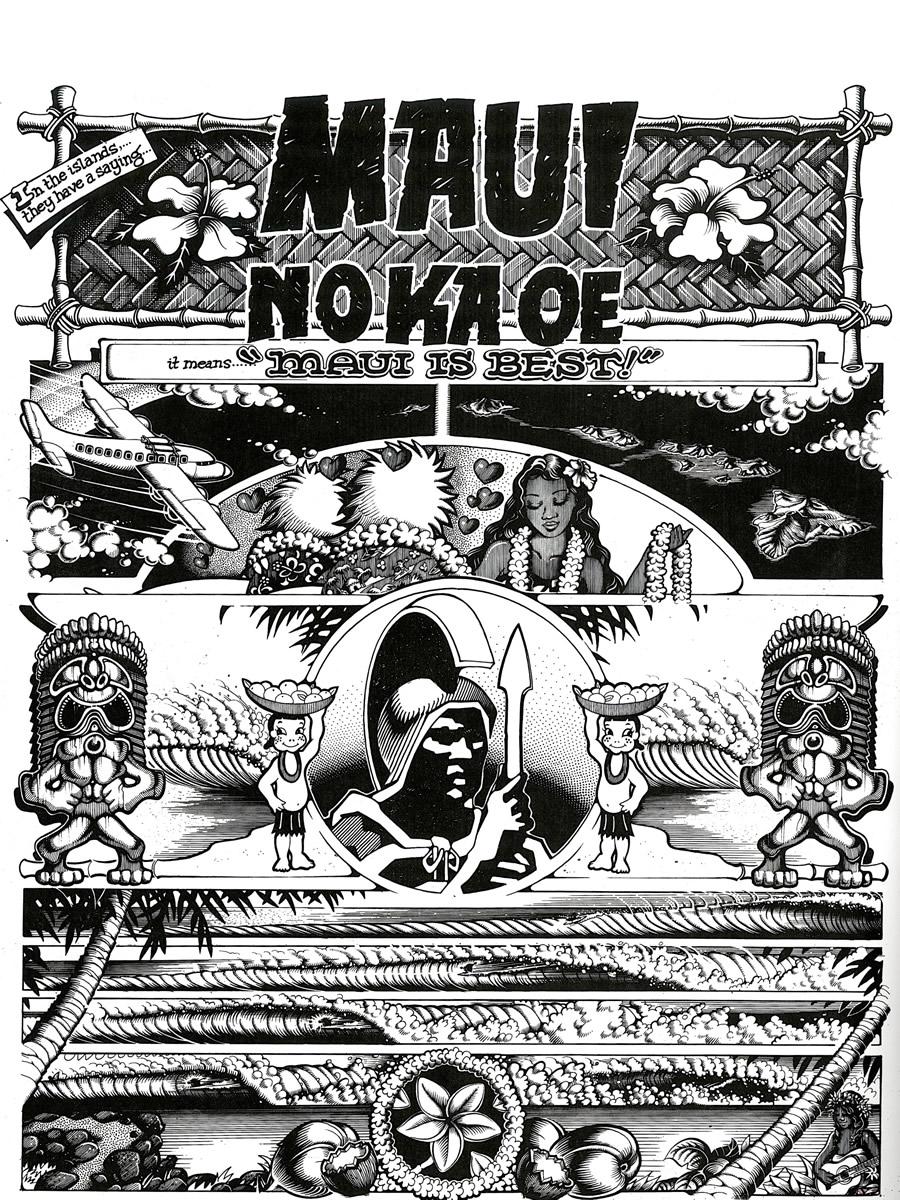 Maui No Ka Oe pg.1, Tales From The Tube
