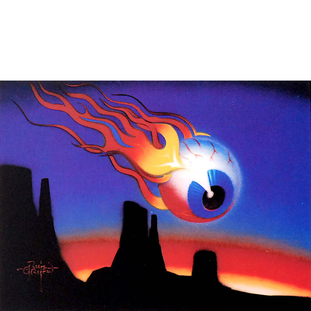 Desert Eyeball Airbrush