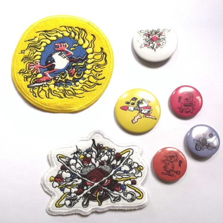 Patches & Buttons