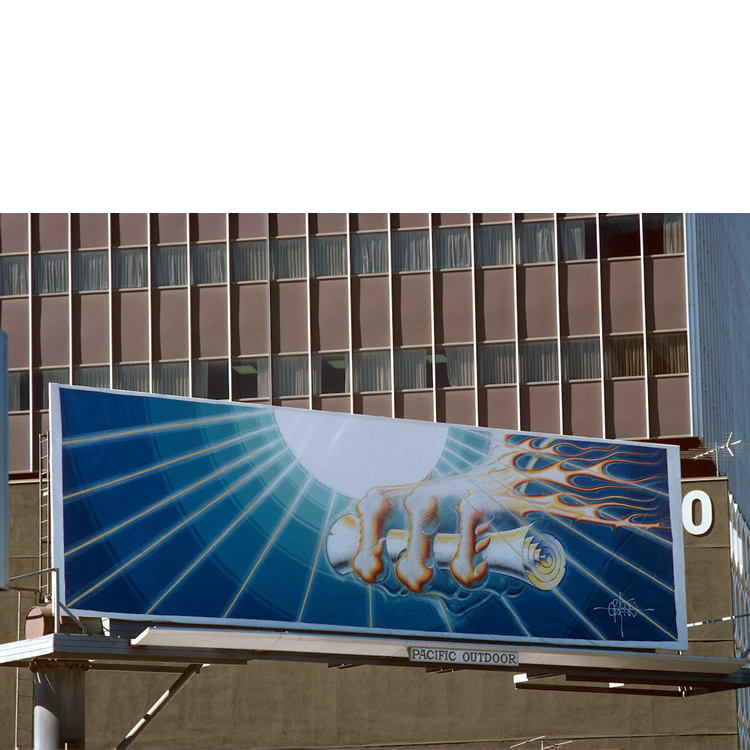 "Billboard ""Imperial Message"""