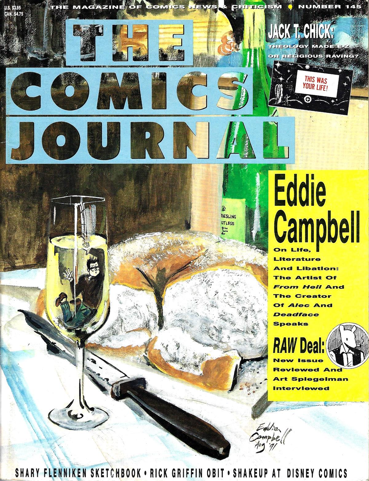 The Comics Journal - 1991