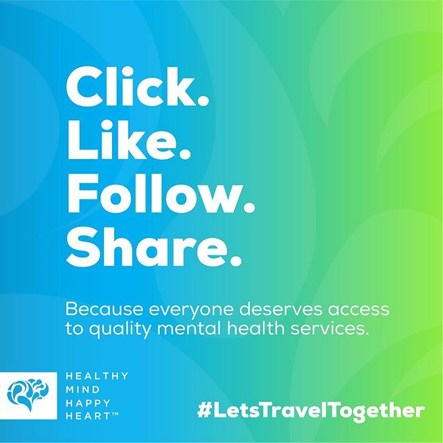 One of the simplest ways take action, make a difference and grow (y)our community. . #ChooseToJourney #LetsTravelTogether #HealthyMindHappyHeart #MentalHealth #MentalHealthAwareness #SharingIsCaring