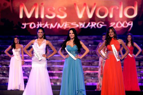 Nadege Herrera entre las finalistas de Miss Mundo 2009