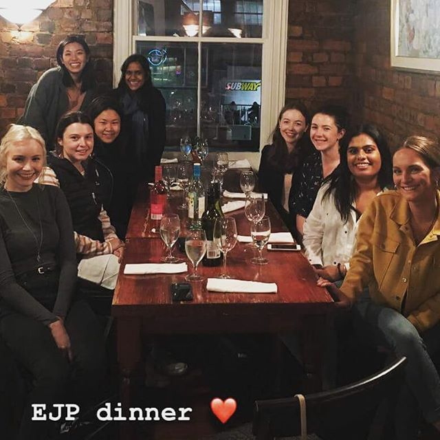 The Community team enjoying a night out #ejp #socialjustice #equaljusticeproject