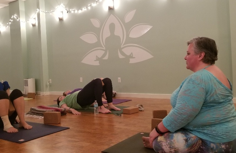 YOGA - Explore gentle, accessible, and adaptive yoga classes with Jacquie.