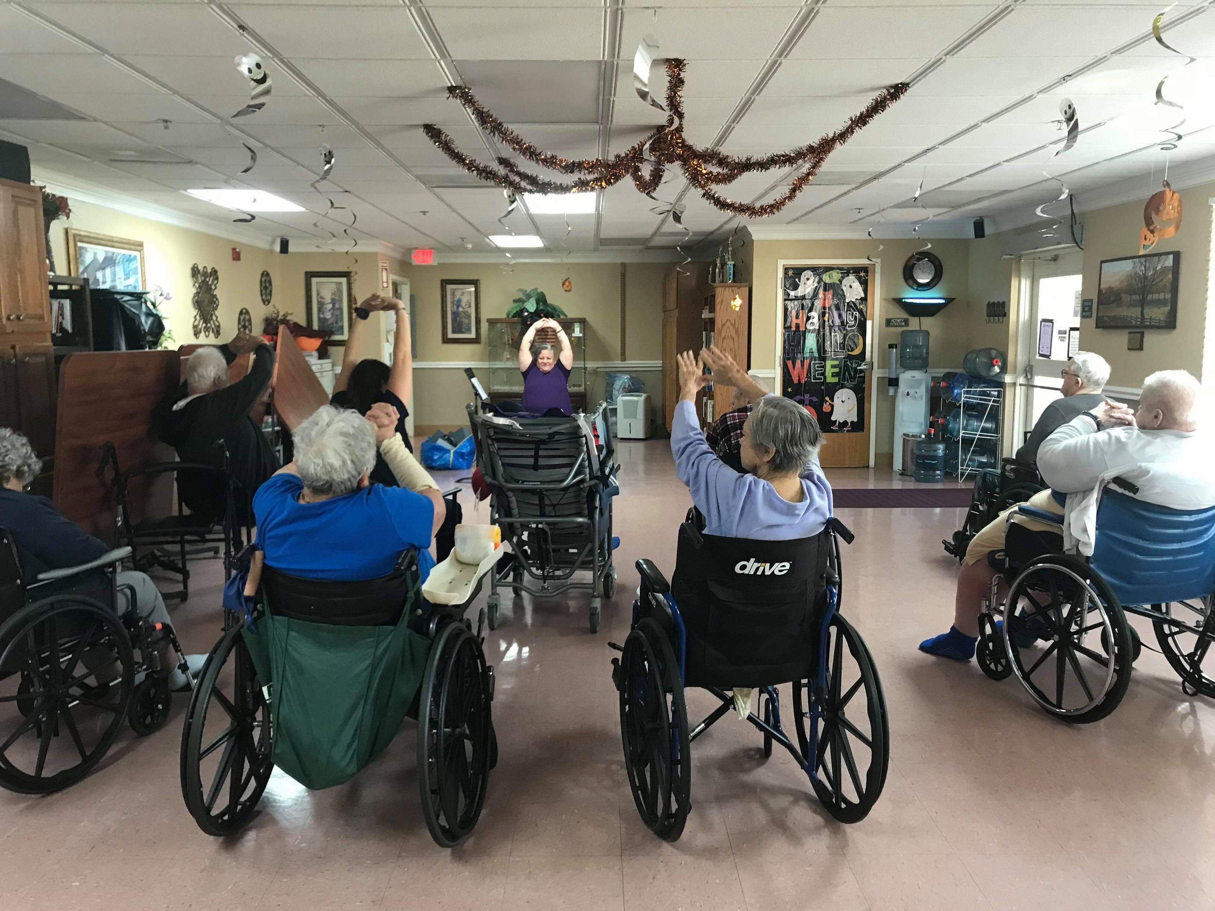 Adaptive & Wheelchair yoga - Bring gentle, adaptive and wheelchair yoga for seniors and differently-abled bodies to your location.
