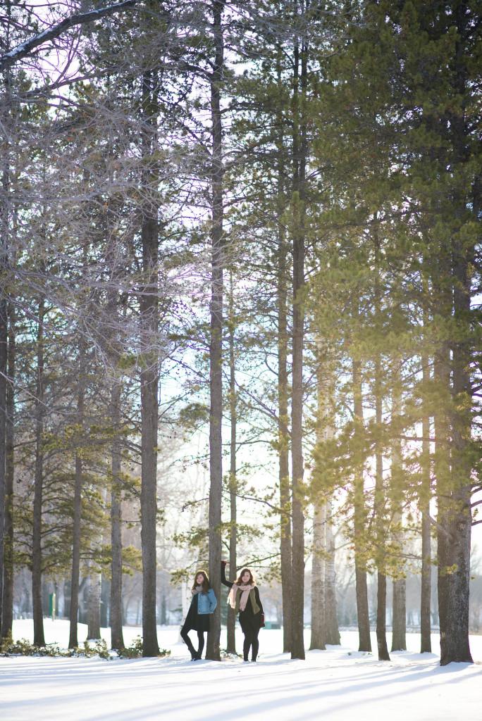 Iz & Olivia winter shoot