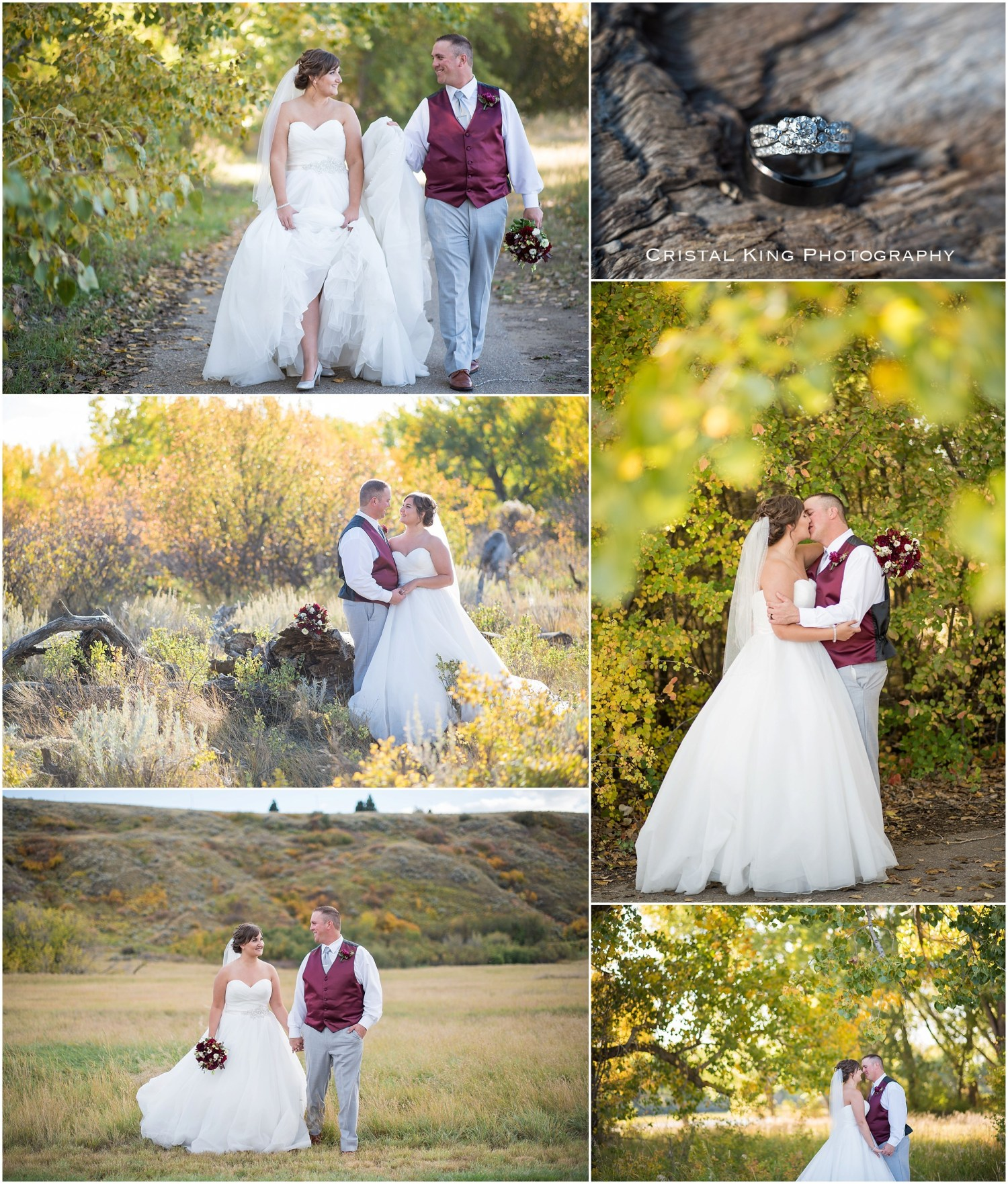 """I absolutely love all of our pictures from Cristal and Tyler! She is so kind & talented! I could not have asked for a better photographer to capture our special day. Thank you so much!!"" –  Taylor McAtamney"