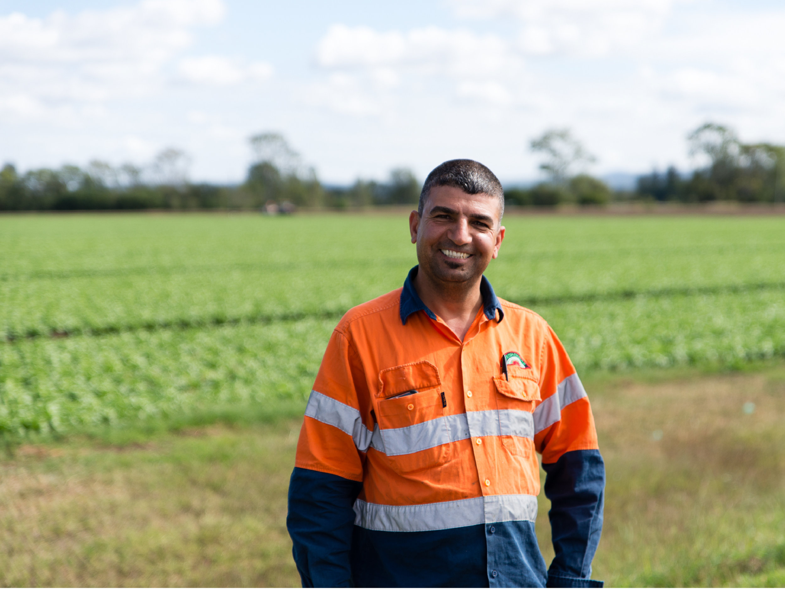 Adnan coordinates and manages all of our harvesting crews. We often have up to 3 harvesters running at one time cutting broccoli and iceberg lettuce. Adnan makes sure our produce is looking and tasting its best before it gets to you in the supermarket.