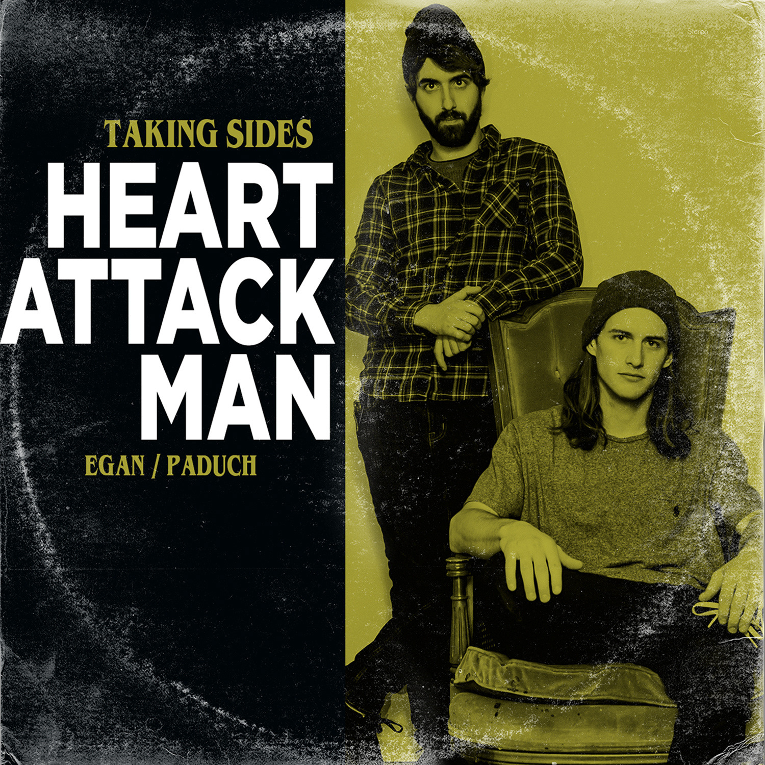 Heart Attack Man - Taking Sides Digital Single - Photography & Design