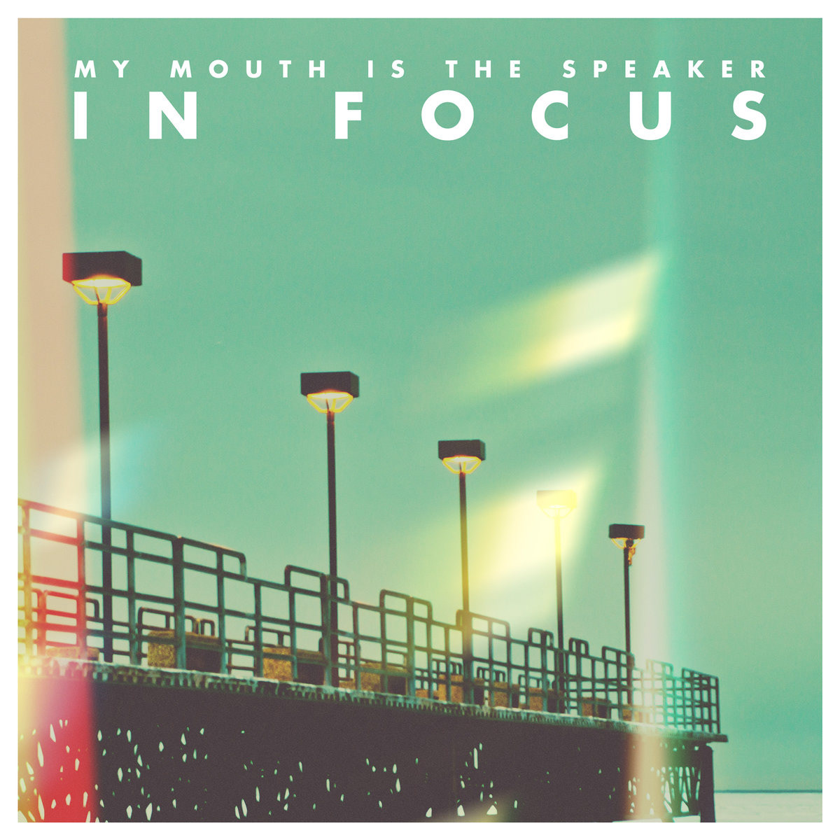"My Mouth Is The Speaker - In Focus 7"" Vinyl Photography, Layout, & Design"