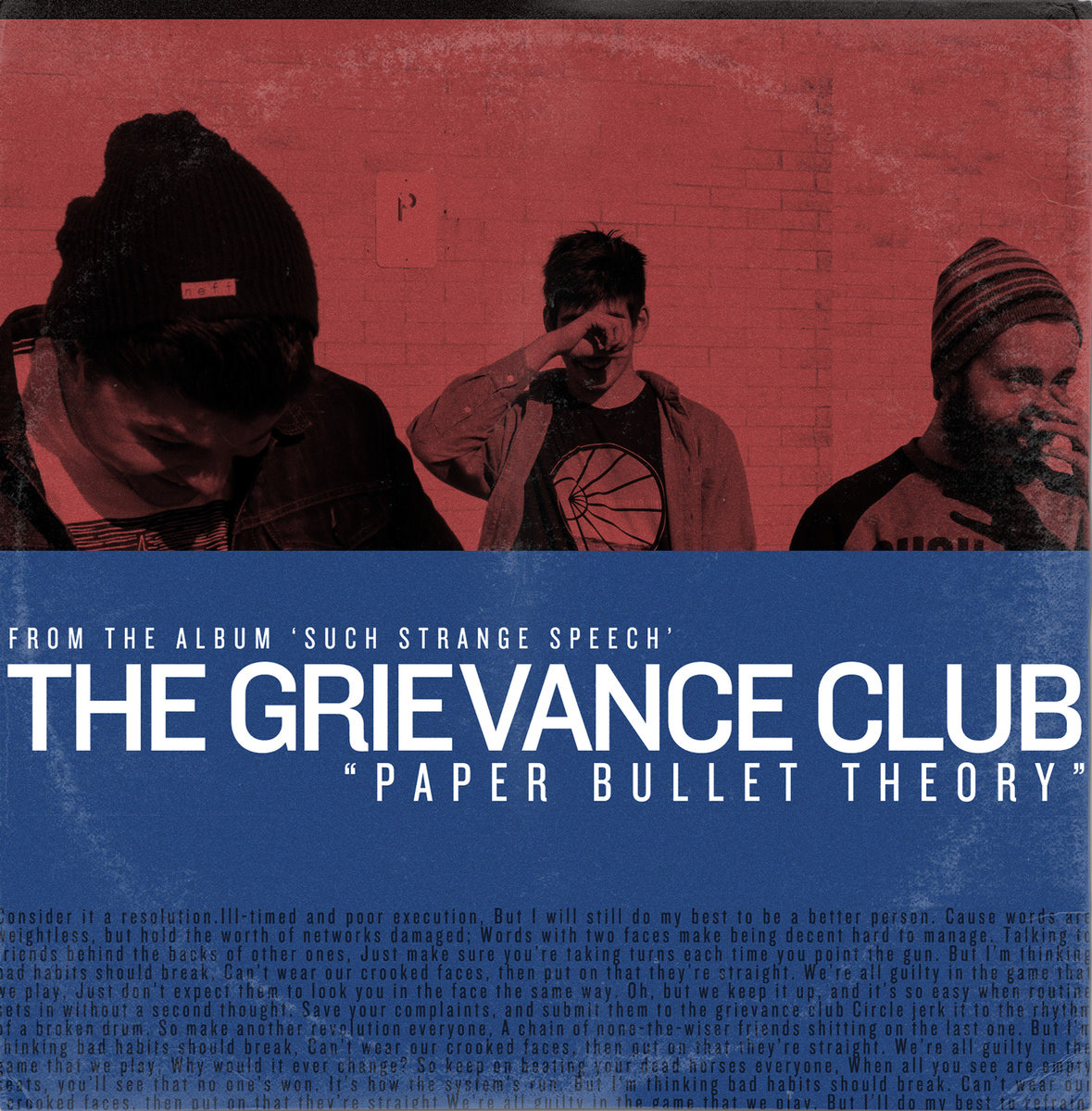 The Grievance Club - Paper Bullet Theory Digital Single Photography & Design