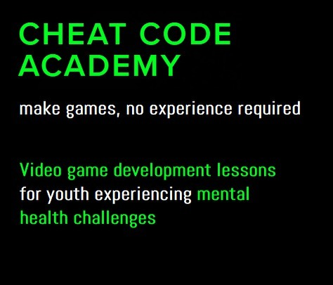 Hello world 👋🏽 Pleased to announce the upcoming launch of Cheat Code Academy, a video game development school focused on working with youth who experience mental health challenges in Vancouver, BC. Stay tuned for more info and updates :) - And check out our website for more info - link in description! . . . . . . . #gamedev #mentalhealth #anxiety #depression #indiegames #tech #gamedesign #entrepreneur #newbusiness #teachersofinstagram #teaching #education #creative #youthinaction #unity #unity3d #codinglife #parentingmemes #vancouverbc