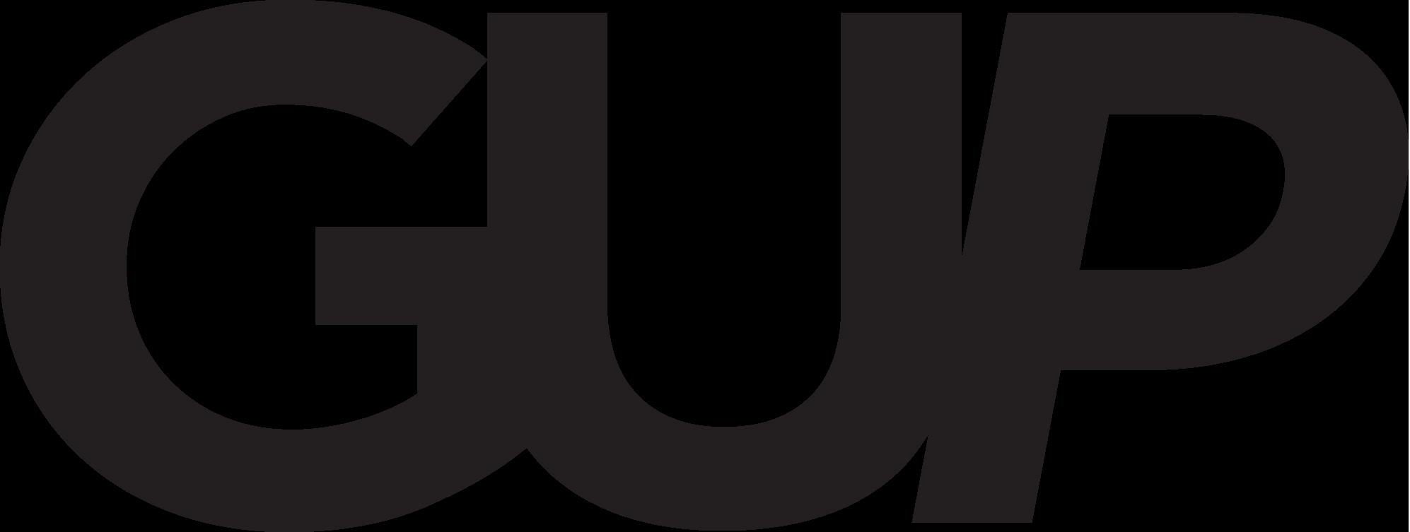 GUP Logo 2015 - Black.png