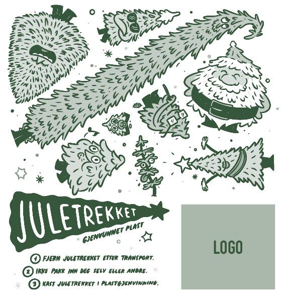#2 Standard dekor med din logo
