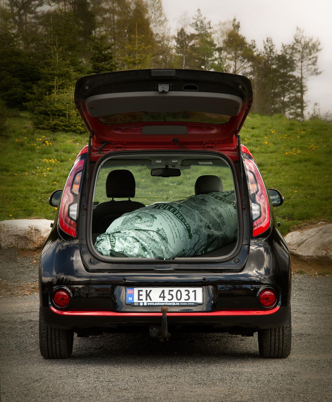 Kunden trenger ikke bekymre seg om rusk og søl i bilen.