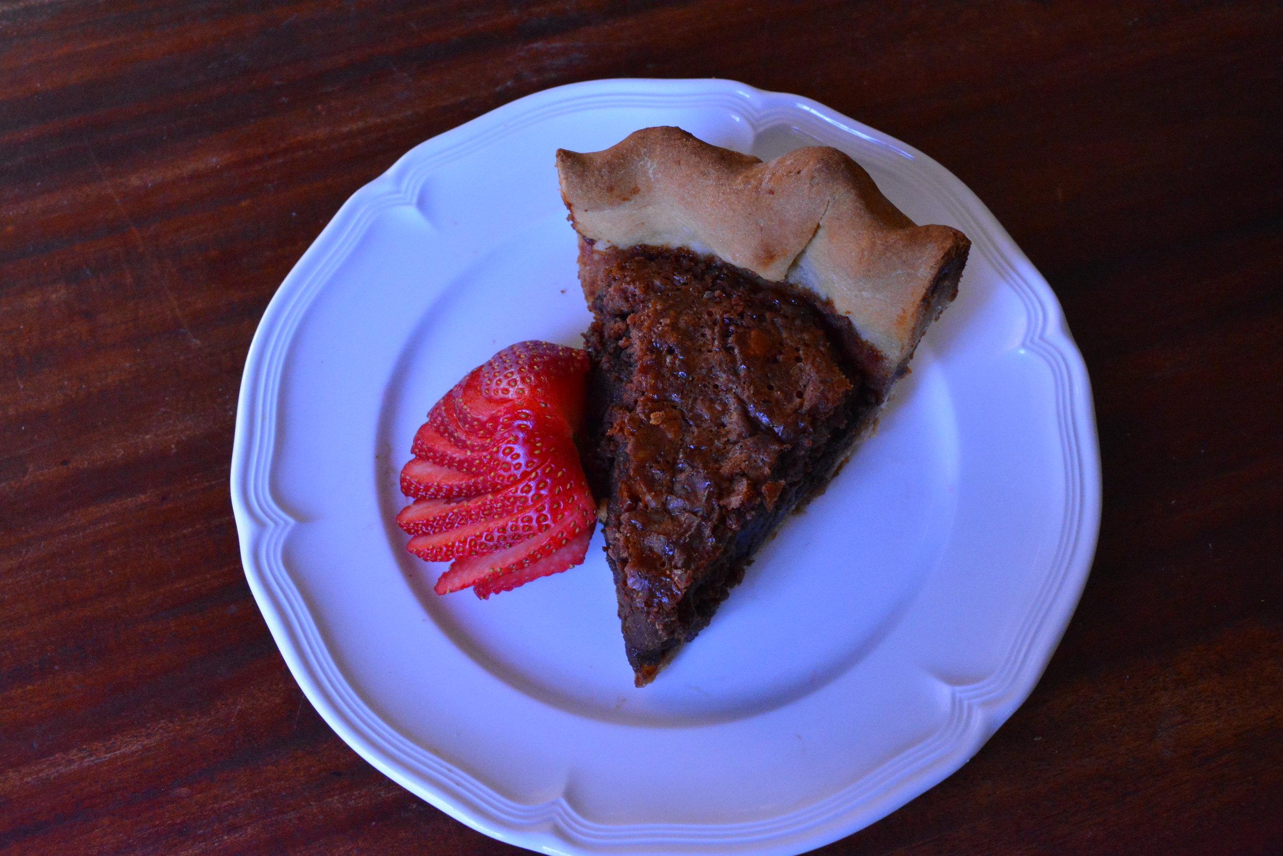 Fudge Butter Pie -- Goodson Pecans