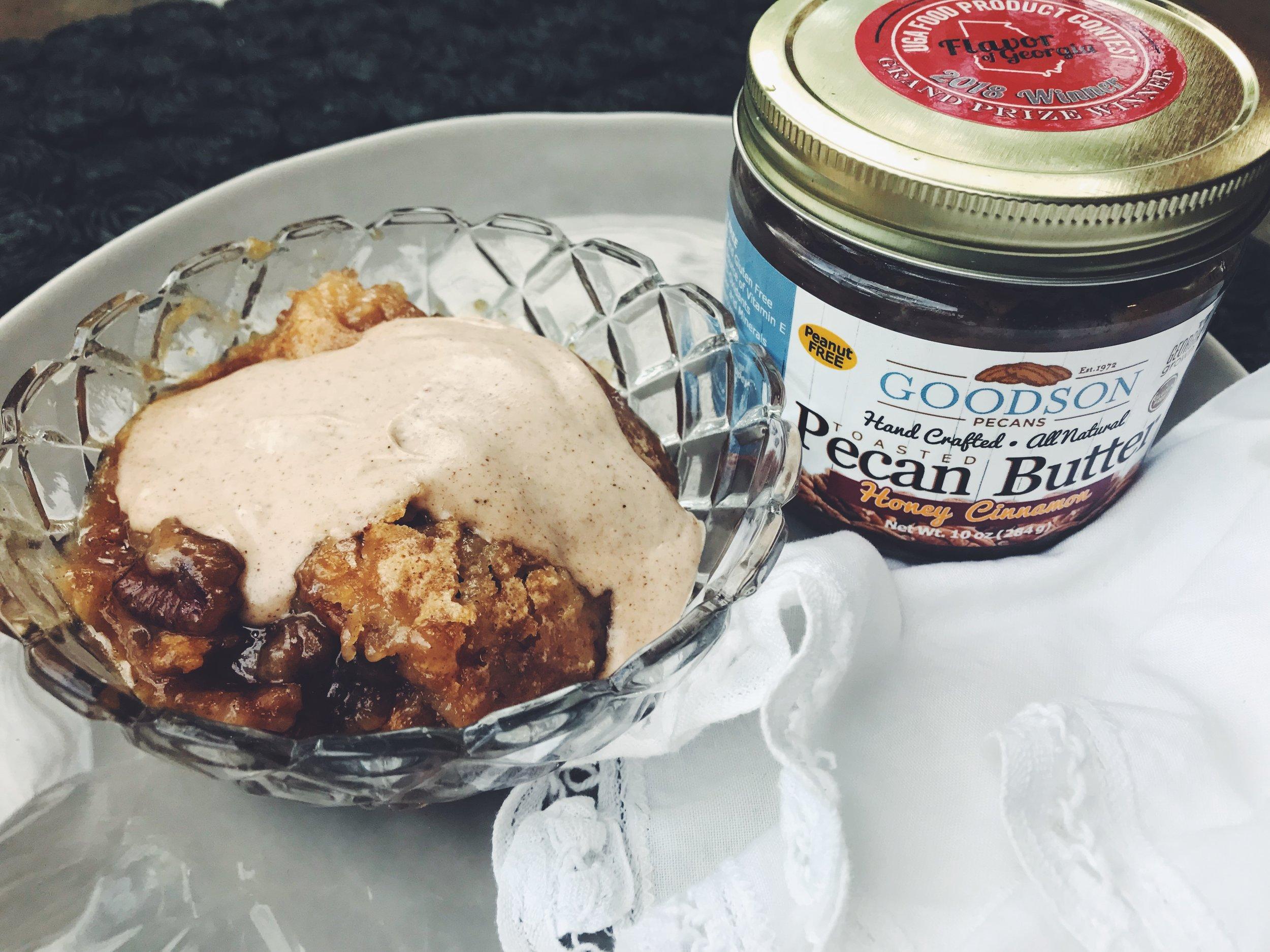 Goodson Pecans Honey Cinnamon Pecan Butter