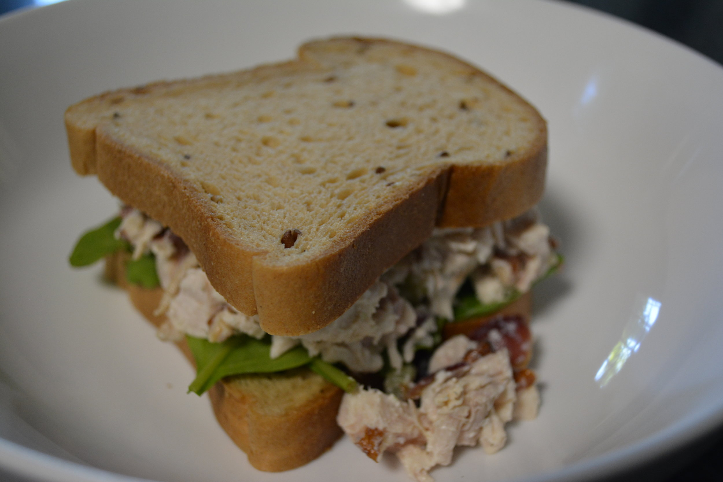 Chicken Salad with Toasted Pecan Pieces
