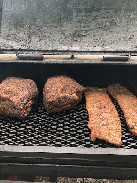 pork rump and spare ribs -