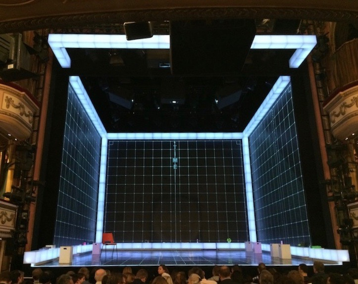The staging for Curious Incident is beautiful and so clever.