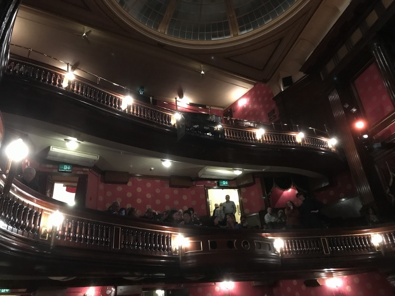 The St. Martin's Theatre has been home to the The Mousetrap for 45 years!