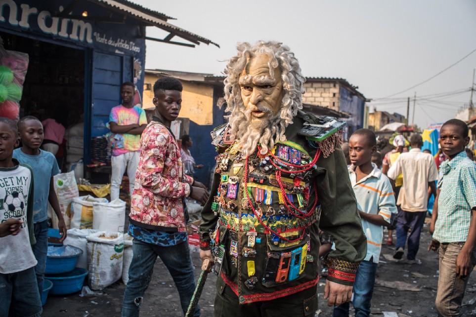 Core Dump — Kinshasa  (2018) by Francois Knoetze. Photo by Jean-Baptiste Joire.