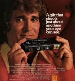 Some sexy 80's ad for my first camera.