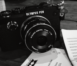 My faithful Olympus Pen which accompanied me to New York