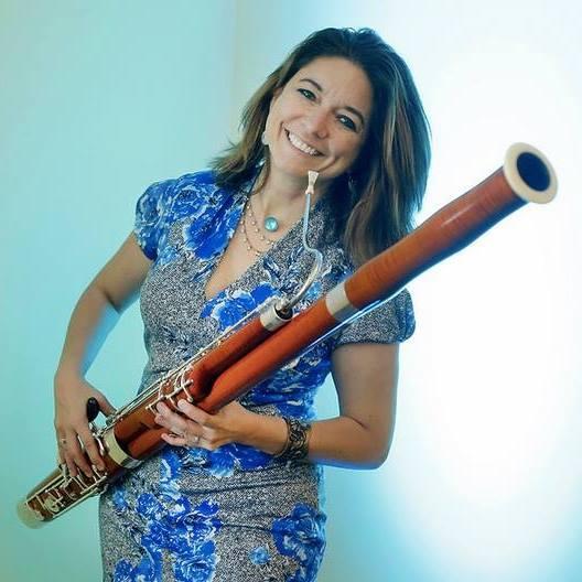 Lia Uribe, Bassoonist