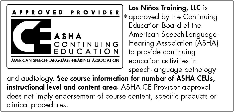 Los Niños Training, LLC ASHA logo short.png