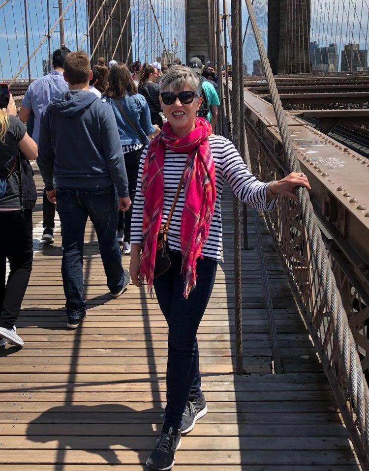 Julie Marshall Brooklyn Bridge