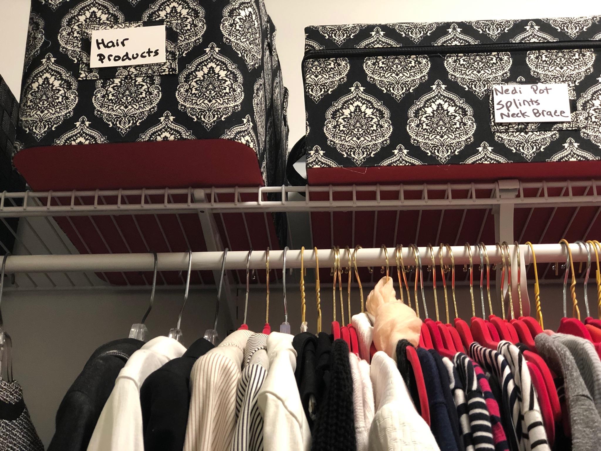 messy closet organizers