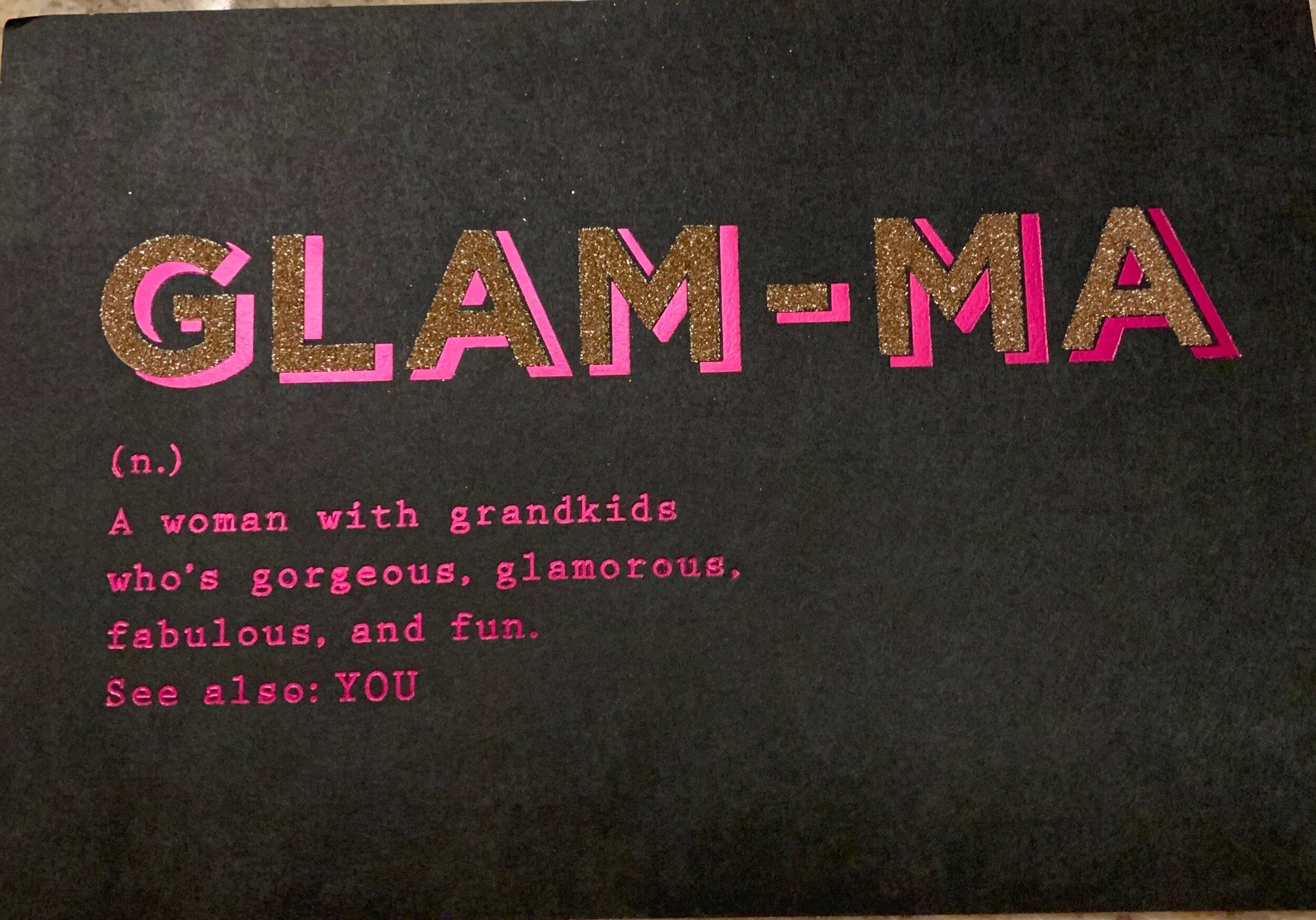 Glamma's Birthday